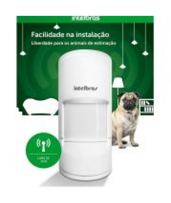 SENSOR INFRA PASSIVO C/FIO IVP 5001 PET